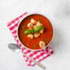 Supa crema rosii