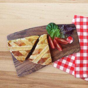 Tarta cu mozzarella si prosciutto cotto, 170 gr