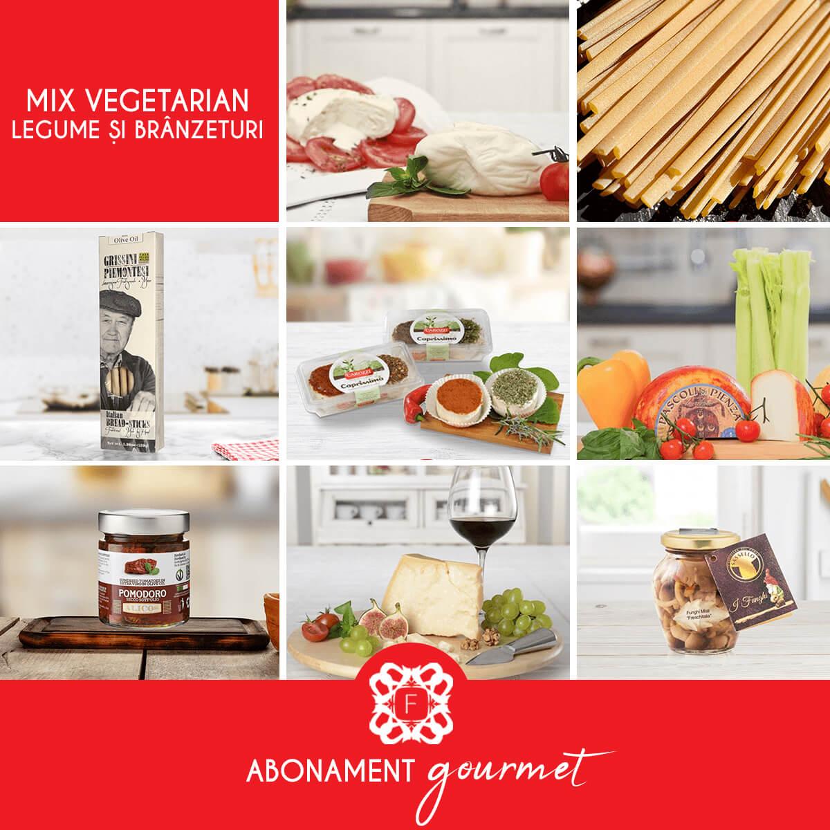 Mix Vegetarian Branzeturi si Elgume