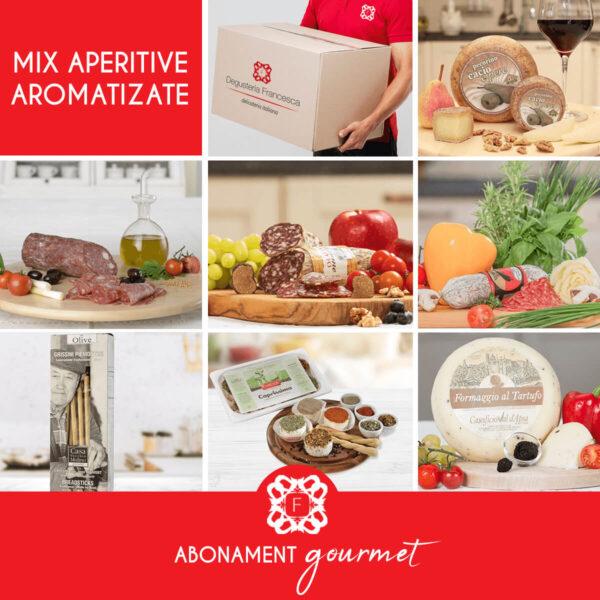 Mix aperitive aromatizate