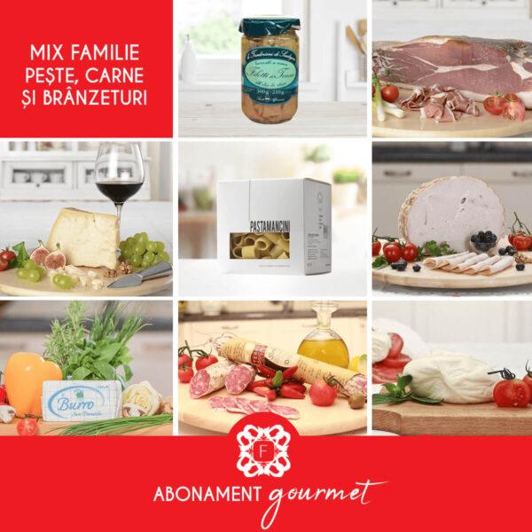 Mix Familie peste, carne branzeturi