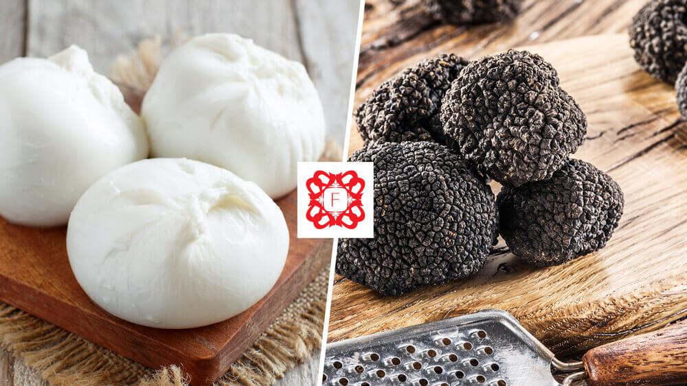 Read more about the article Burrata cu trufe negre