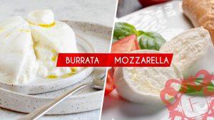 Read more about the article Afla care e diferenta intre Burrata si Mozzarella