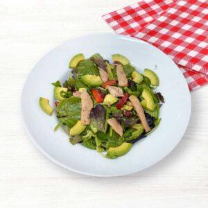 Salata cu ton si avocado, 200 gr