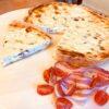 Tarta cu pancetta si praz