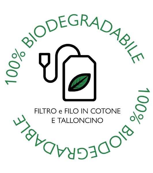 Saculet ceai biodegradabil