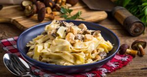 Read more about the article Pappardelle ai Funghi