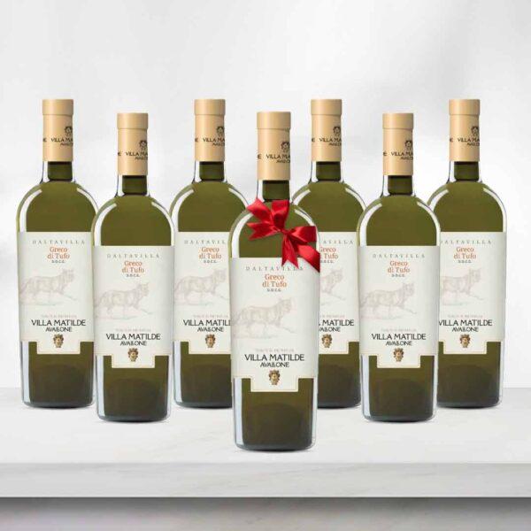 Greco di Tufo DOCG Villa Matilde - 6 sticle+1 bonus
