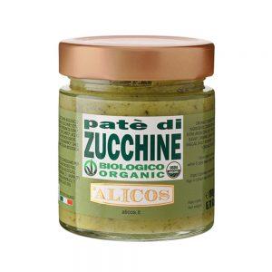 Pate de zucchini BIO, 190 gr, Alicos