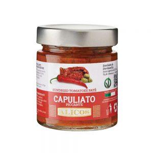 Pate Capuliato Piccante, 190 gr, Alicos