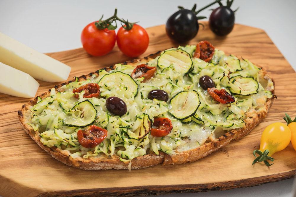 bruschetta cu branza asiago and zucchini 969