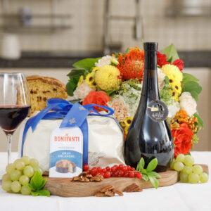 Panettone & Vino Rosso