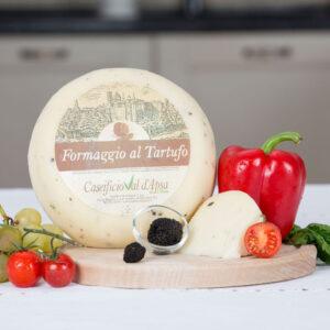 Formaggio al Tartufo, Branza cu Trufe proaspete, 100 gr