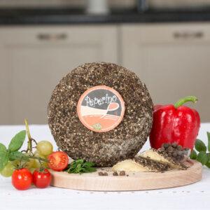Pecorino Peperino – branza maturata in piper, 100 gr