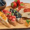 crostini cu fructe 956