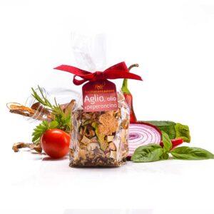 Condimente Aglio, Olio, Pepperoncino, 60 gr