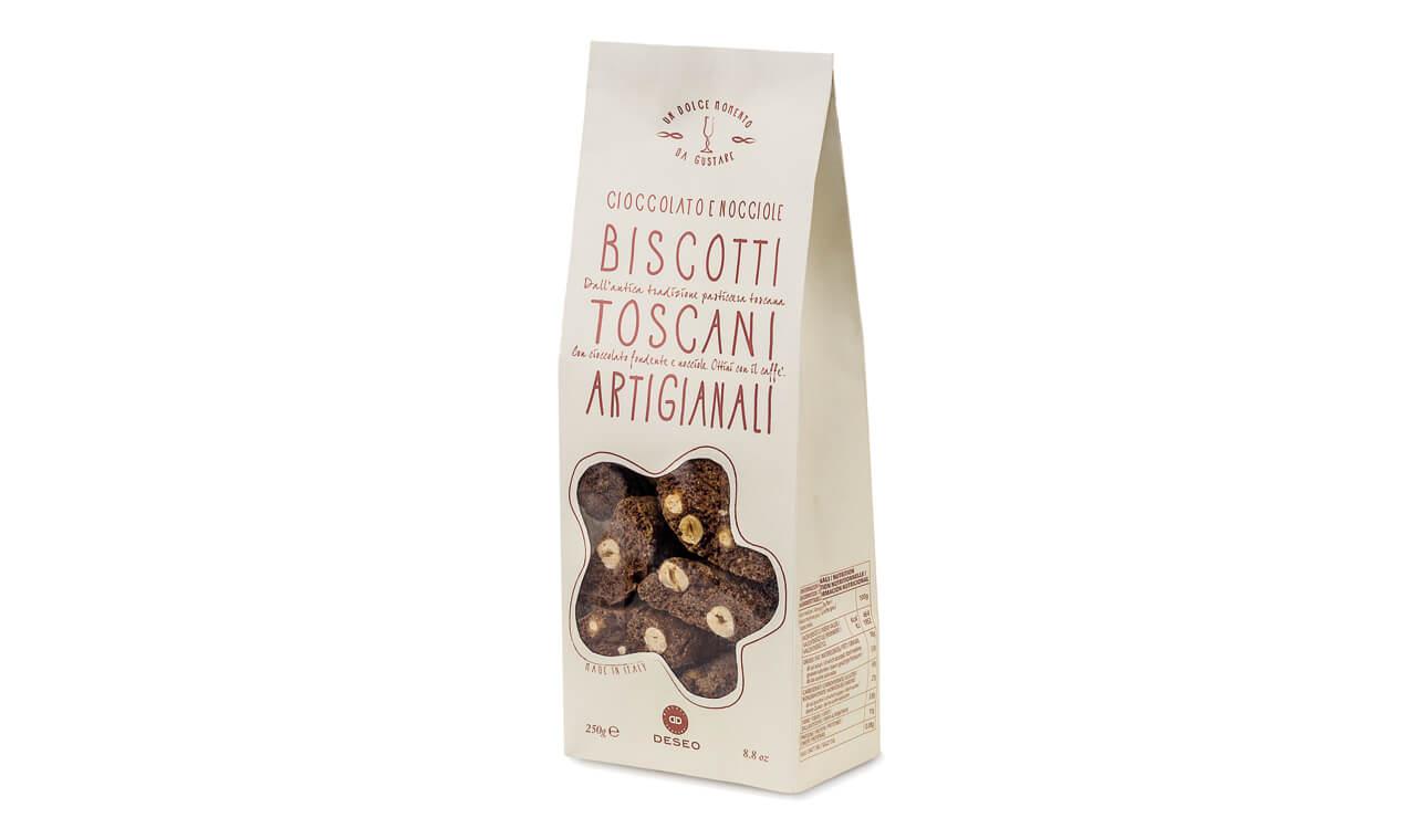 Biscuiti toscani cu ciocolata si alune