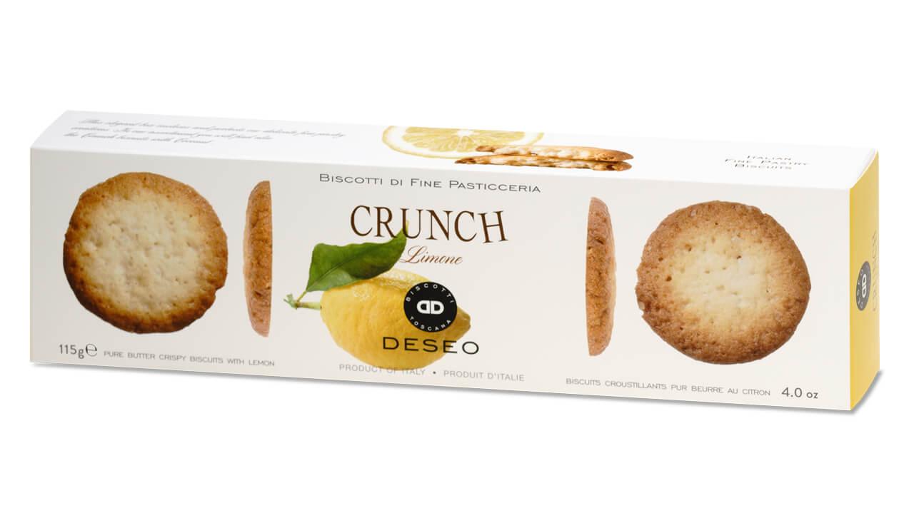Crunch limone - biscuiti cu lamaie