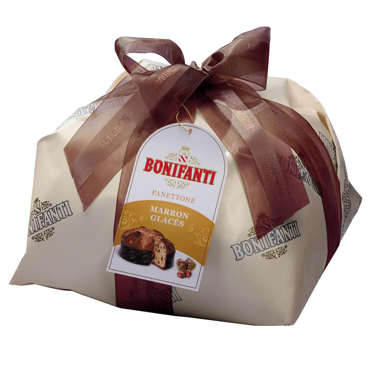 Panettone cu Castane Glazurate