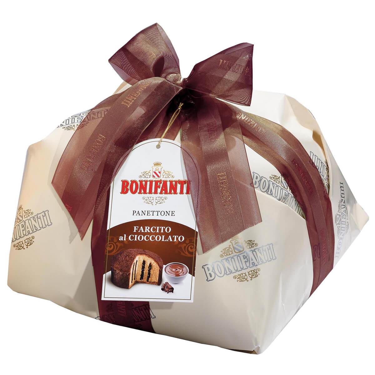 Panettone cu Crema de Ciocolata