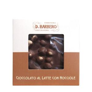 Ciocolata cu lapte si alune de padure, 120 gr