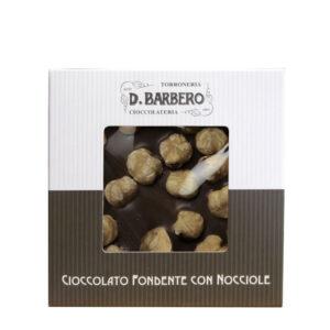 Ciocolata fondanta cu alune de padure, 120 gr