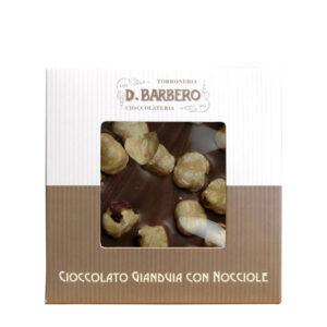 Ciocolata Gianduia cu alune de padure, 120 gr.