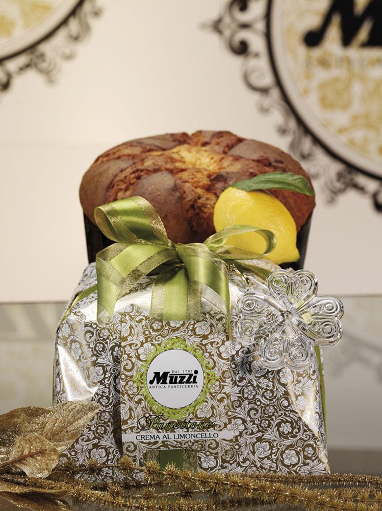 panettone cu crema de limoncello 500 gr muzzi 582