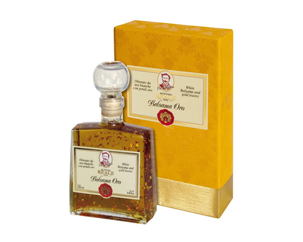 condiment balsama oro cu petale de aur 250 ml 371