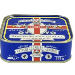 Ton Pinna Gialla in ulei de masline, 360 gr
