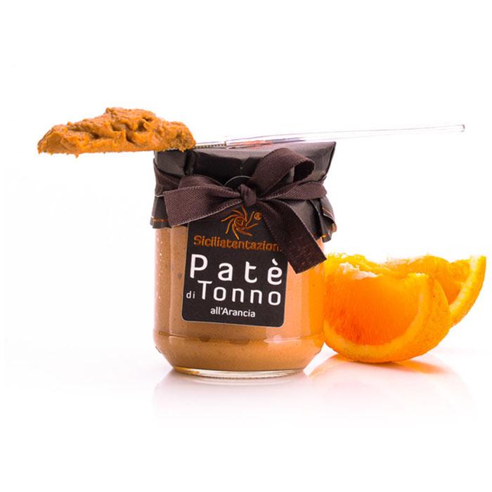 Pate de Ton cu Portocale Sicilia, 200 gr
