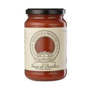 Basilico – Sos de rosii cu busuioc – BIO – 340 gr