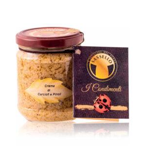 Crema de Anghinare si Muguri de Pin – Sassello, 180 gr