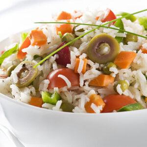 Salata de orez cu legume, 250 gr